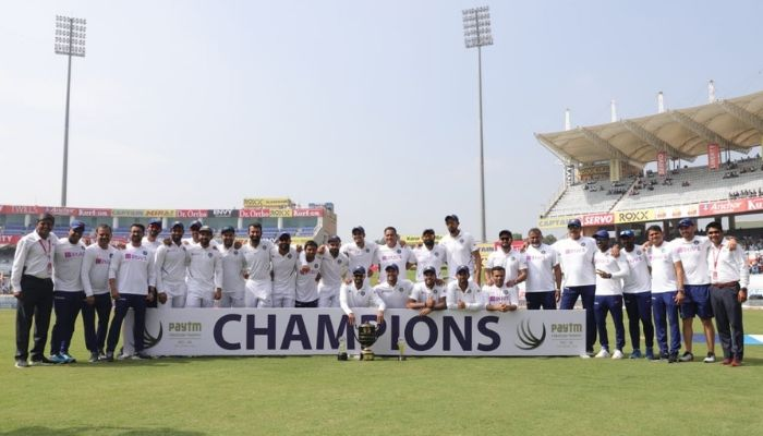 India completed their first-ever 3-0 series whitewash over South Africa as they defeated the Proteas by an innings and 202 runs in the final Test